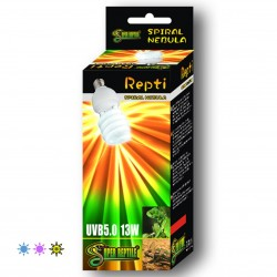 Bombilla Super Reptile bajo consumo UVA UVB para reptiles