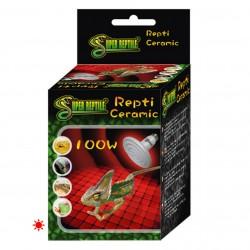 Bombilla cerámica de calor Super reptile para reptiles y aves 100W
