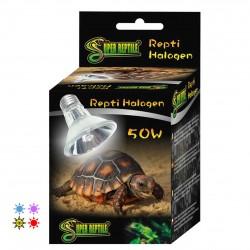 Bombilla halógena de calor UVA UVB Super reptile para reptiles, mamíferos y aves