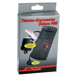 Termohigrómetro con dos sondas para medir temperatura y humedad en terrarios