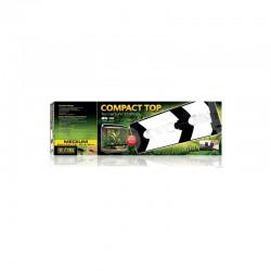 Pantalla Compact Top de Exoterra para bombillas UVA UVB para reptiles